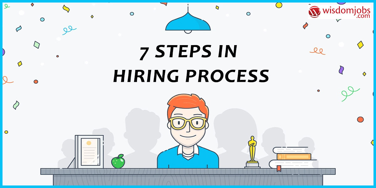 7 steps in hiring process