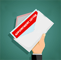 What is Appointment letter Format?