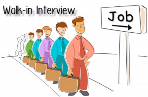 Walk-In Interviews