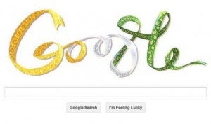 Google celebrates the start of FIFA World Cup 2014 with a doodle