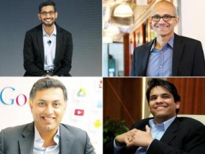 Here are the 10 Indian-origin CEOs of global tech giants