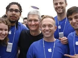 Highly paid jobs at Apple