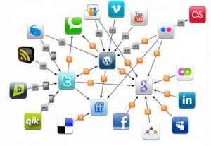 How to be social on web?