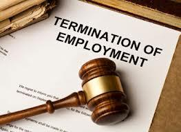 Termination or Being Fired