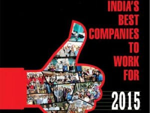 India's best companies to work for 2015