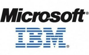Microsoft and IBM are the emerging cloud business points: Study