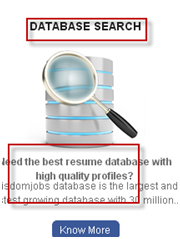 PRE-SCREENED DATABASE SEARCH