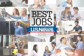 The best jobs to work in the USA right now