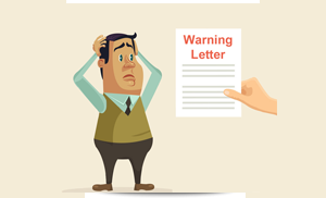 Leave letter after taking leave without informing