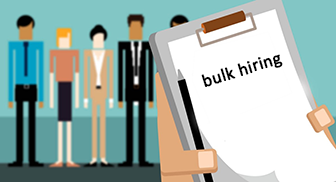 What is bulk hiring?