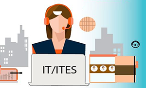 What is ITES meaning?