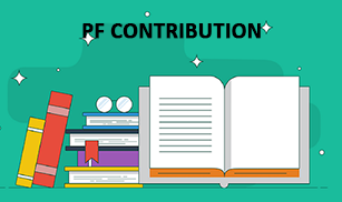 PF contribution of employee and employer
