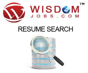 Wisdomjobs Resume Search Tools to Empower Recruiters