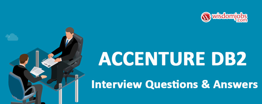 Accenture DB2 Interview Questions