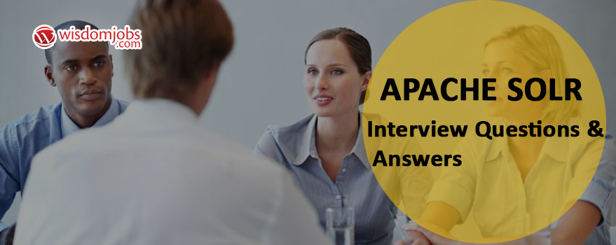 Apache Solr Interview Questions