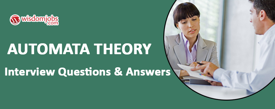Automata Theory Interview Questions