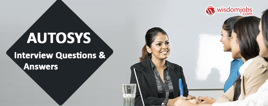 Autosys Interview Questions & Answers
