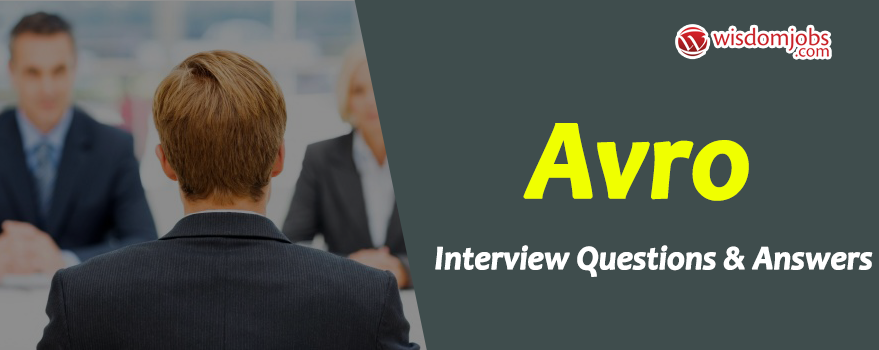 Avro Interview Questions
