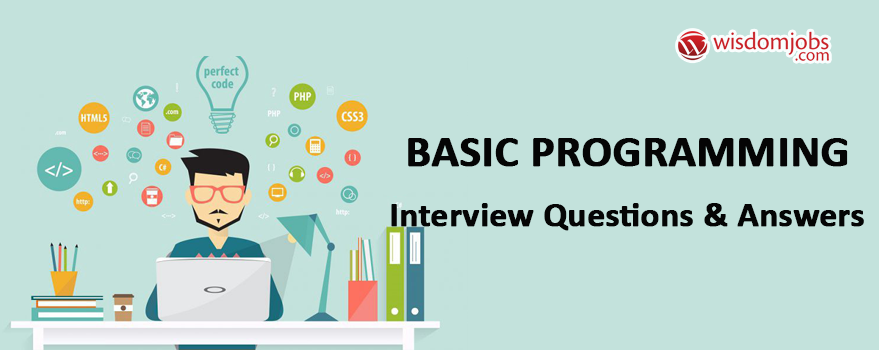Basic Programming Interview Questions