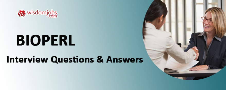 BioPerl Interview Questions