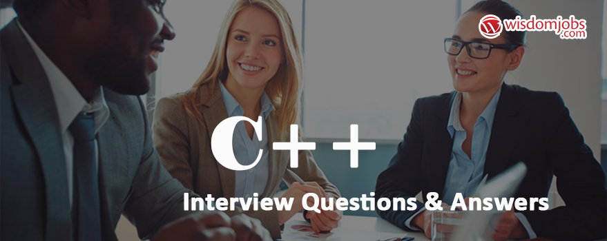 C++ Interview Questions & Answers