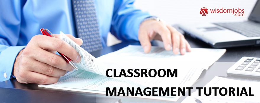 Classroom Management Tutorial