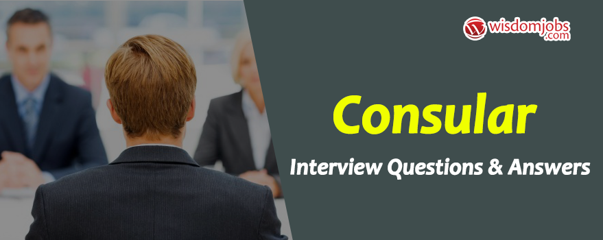 Consular Interview Questions