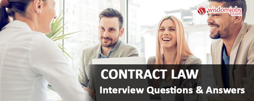 Top 250 Contract Law Interview Questions Best Contract Law