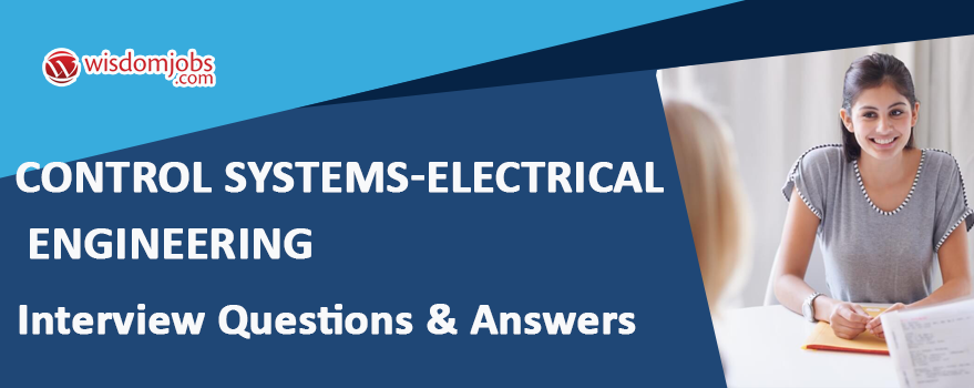 Control Systems-Electrical Engineering Interview Questions