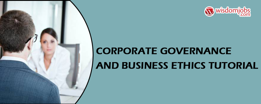 Corporate Governance and Business Ethics Tutorial