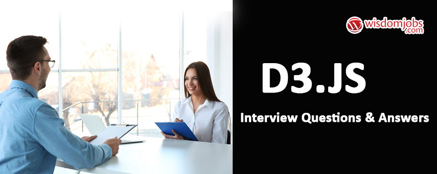 D3.js Interview Questions