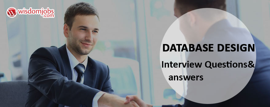 Database Design Interview Questions & Answers