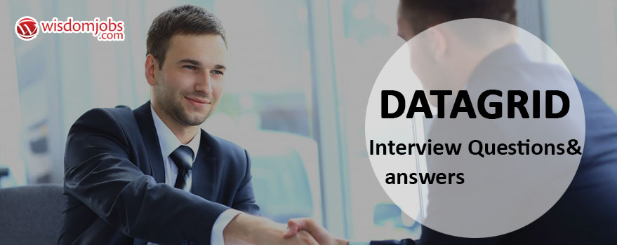 DataGrid Interview Questions