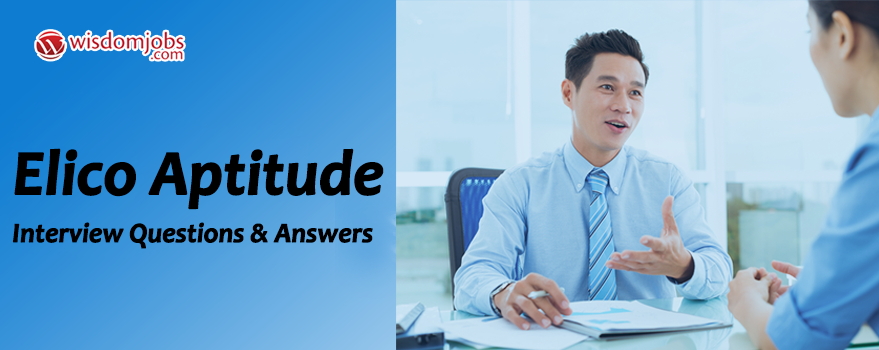 Elico Aptitude Interview Questions