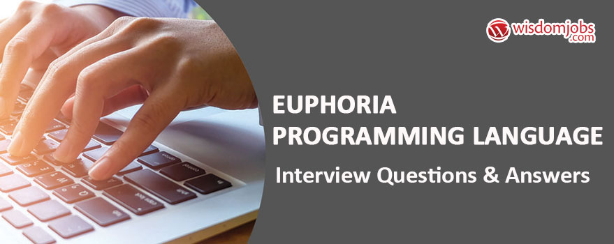 Euphoria Programming Language Interview Questions