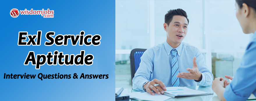EXL Service Aptitude Interview Questions