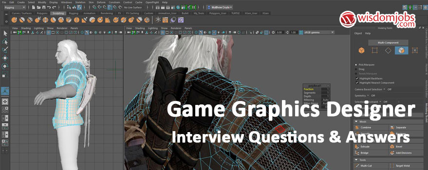 Game Graphics Designer Interview Questions & Answers
