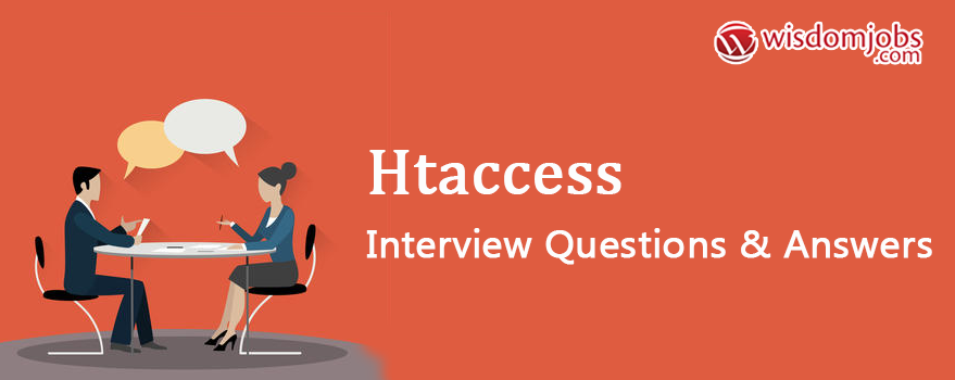 HTAccess Interview Questions & Answers