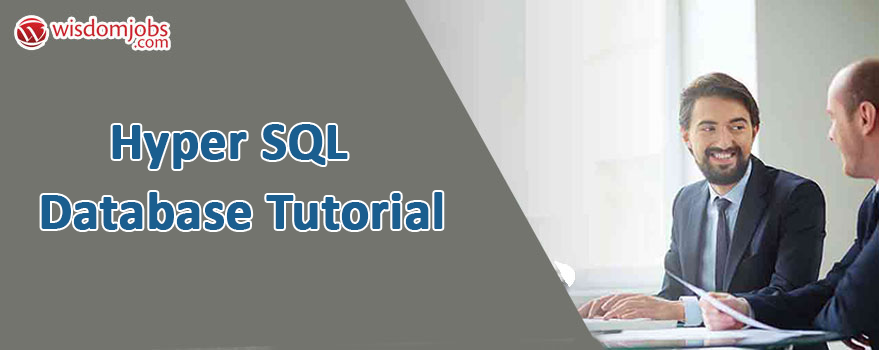 Hyper SQL Database Tutorial