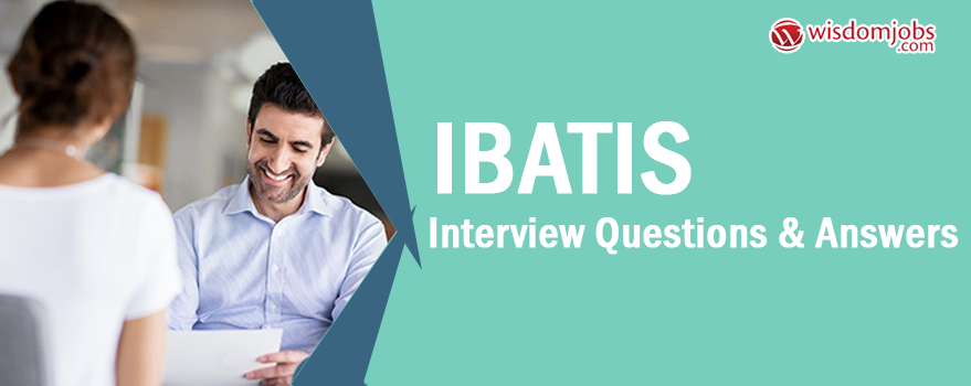 iBATIS Interview Questions & Answers