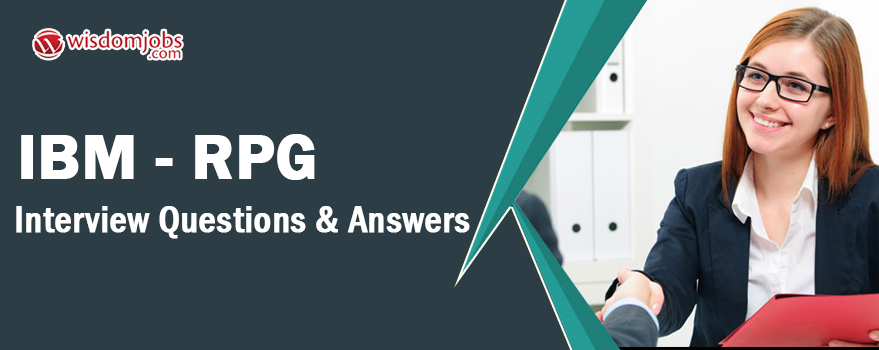 IBM - RPG Interview Questions