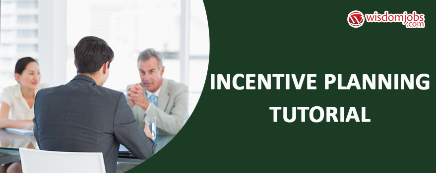 Incentive planning Tutorial