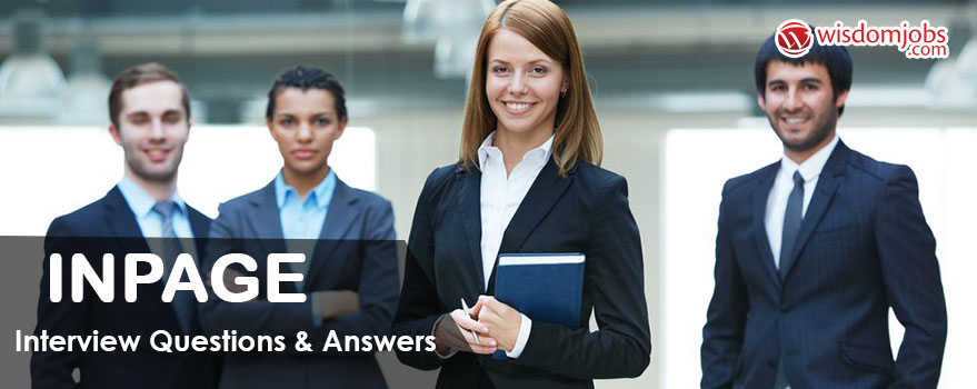 InPage Interview Questions