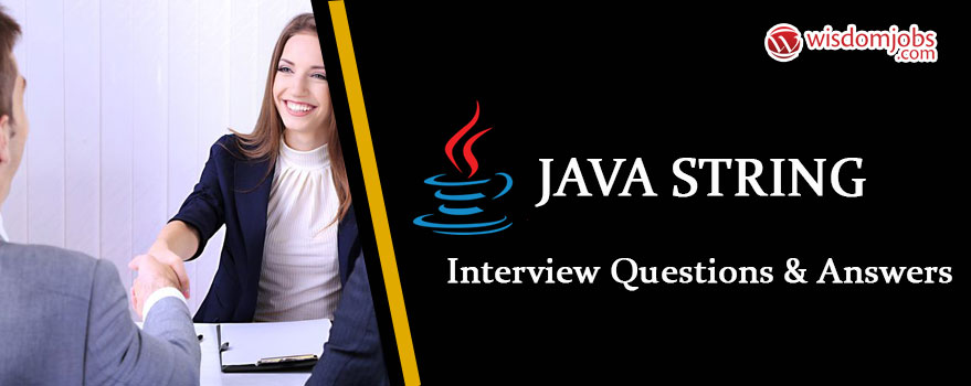 Java String Interview Questions & Answers