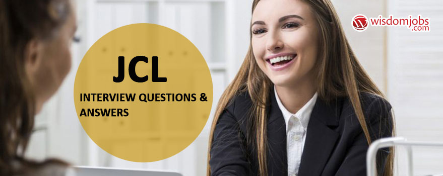 JCL Interview Questions & Answers