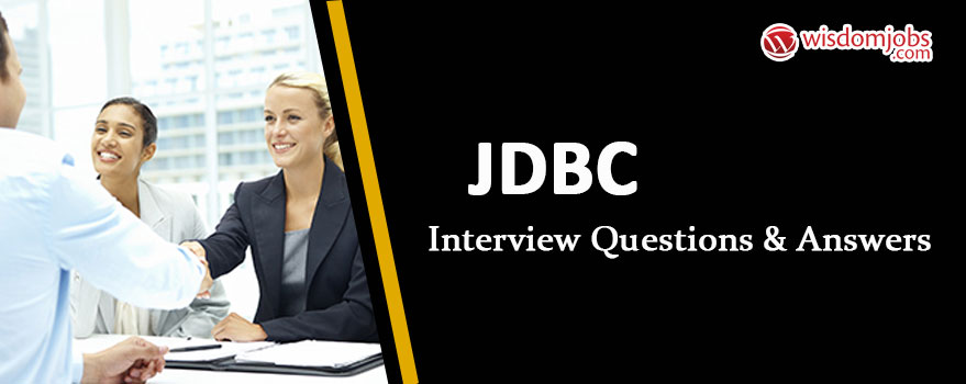 JDBC Interview Questions & Answers