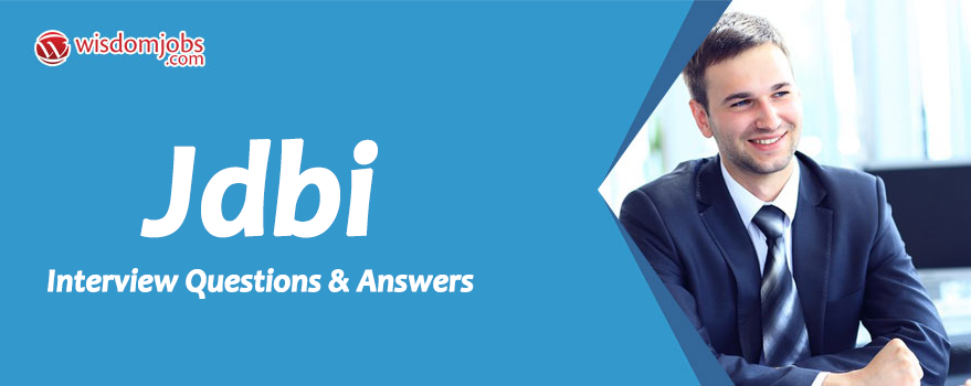 JDBI Interview Questions