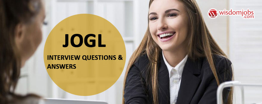 JOGL Interview Questions & Answers