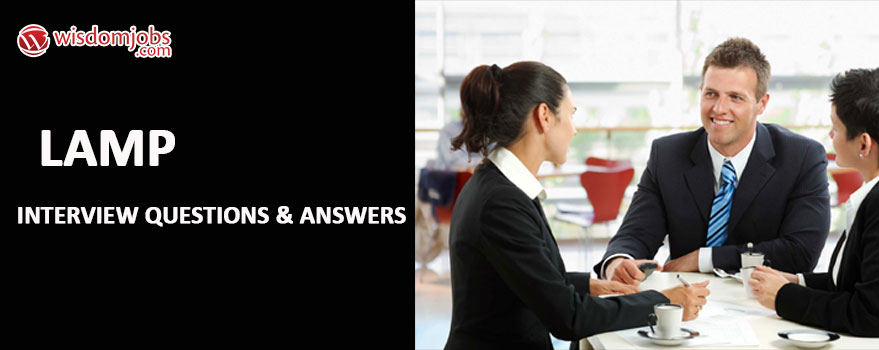 LAMP Interview Questions