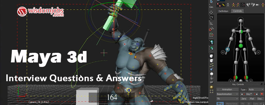 Maya 3D Interview Questions & Answers